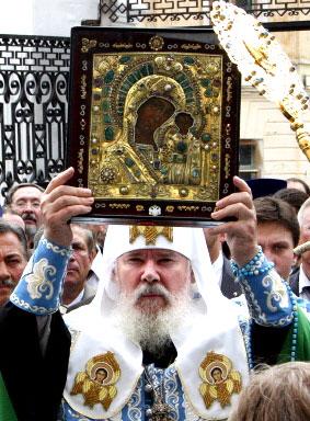 ايقونة روسية اشتهرت بعمل المعجزات لقد احتلت هذه الايقونة مكانة استثنائية في تاريخ روسيا كلها