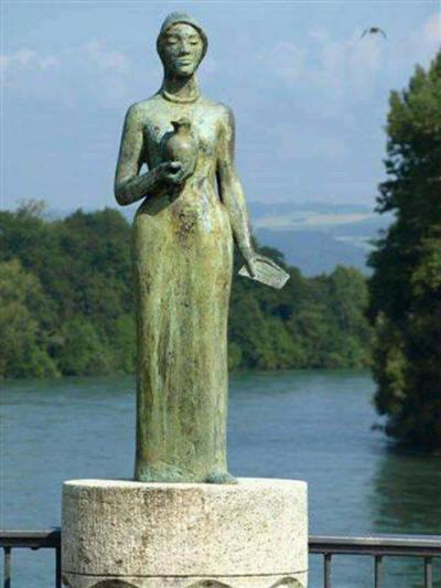 القديسة الكارزة فيرينا فتاة الصعيد