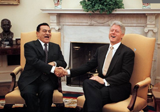 نتيجة بحث الصور عن حسني مبارك+الولايات المتحدة الأمريكية
